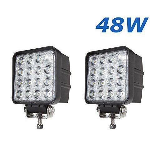 2x 48w led luce lampada faro da lavoro faretto auto barca fuoristrada 12-24v