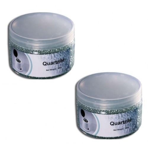 2 x microsfere di quarzo 500 gr per sterilizzatore a perline sfere palline estetica