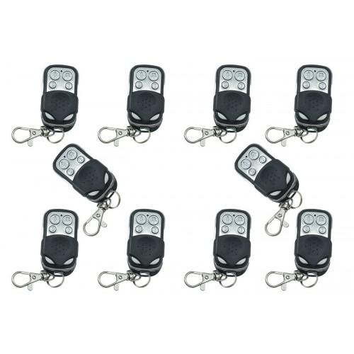 Telecomando telecomandi universali 4 pz cancello automatico 433 92mhz anboqi