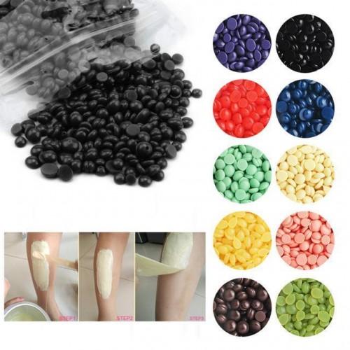Kit 5 confezioni hot wax cera brasiliana senza strisce in perle