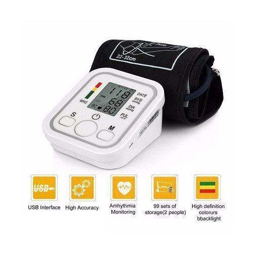 Misuratore di pressione da braccio automatico sfigmomanometro aritmia 598