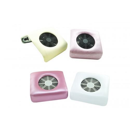 Aspiratore rosa bianco 23cm dimensioni da tavolo per unghie nail medio  offerta