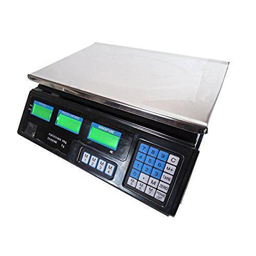 Bilancia max 40 kg digitale elettronica