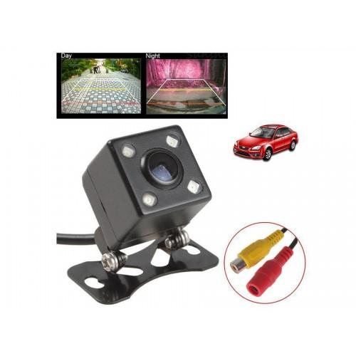 Camera telecamera retromarcia auto camper 4 led 420tvl con staffa ei-2050