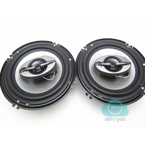 Kit altoparlanti auto 400 watt 16 cm coppia casse audio 400 w 2 vie tweeter off