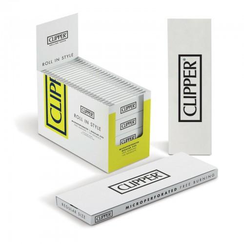 5000 cartine clipper bianche corte da 100 libretti