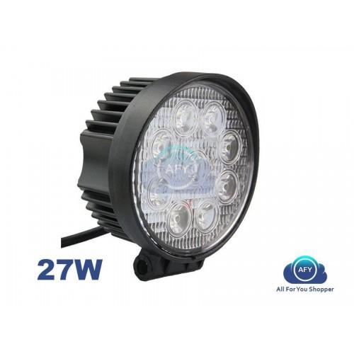Faro 27w led luce lampada faro da lavoro auto barca fuoristrada camion 12v 24v