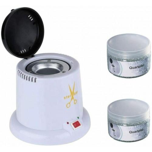 Sterilizzatore al quarzo per utensili estetica con 2 ricariche incluse
