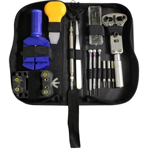 Kit ripara orologi riparazione orologio orologiaio cambio batteria cinturino cassa