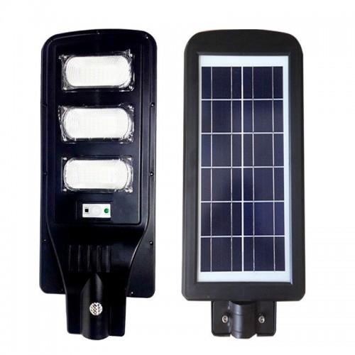 Lampione stradale led 60 w pannello solare fotovoltaico jd1940 con telecomando