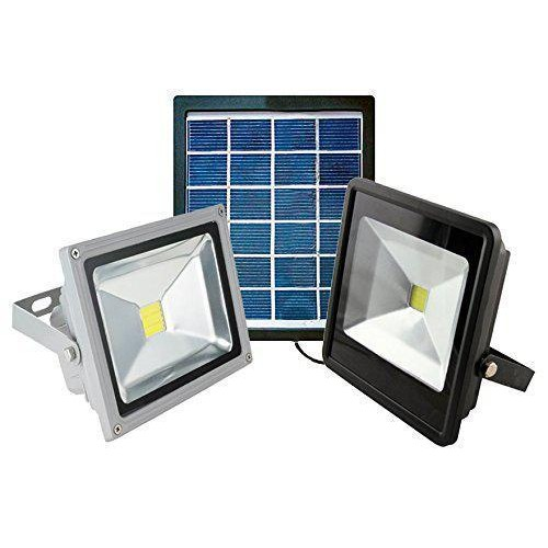 Faretto faro led energia solare pannello batteria ricaricabile 2w 5v off