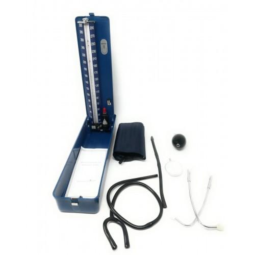 Misuratore di pressione a pompa professionale con sfigmomanometro a mercurio
