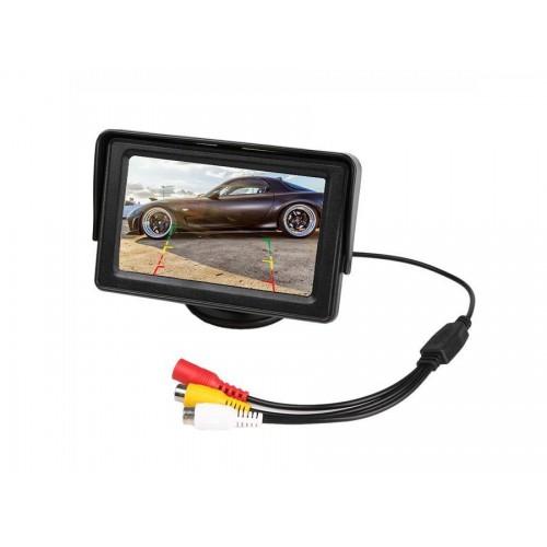 Monitor retromarcia auto 4.3