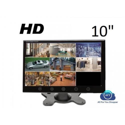 Monitor lcd 10.1 pollici hd auto pulsanti sfioramento telecomando 2 ingressi av!