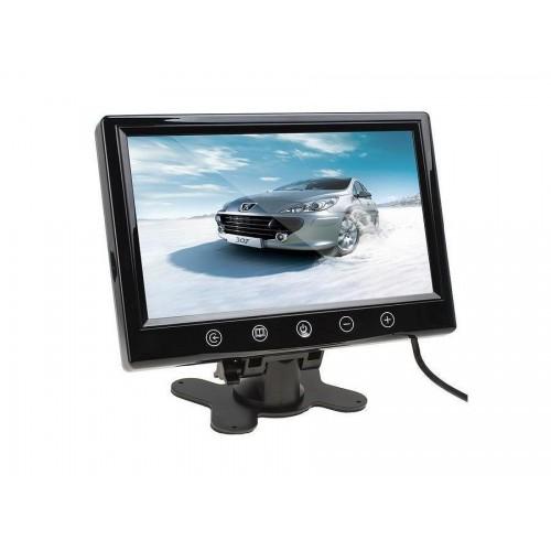 Monitor per telecamera 9 pollici video schermo tft led controllo touch 2 canali