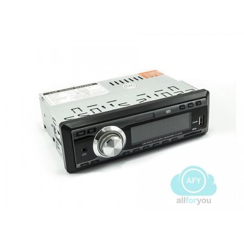 Autoradio universale con telecomando stereo per auto mp3 con slot sd e usb/603