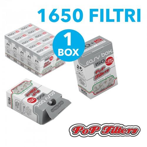 ebde5ddcf60b 1500 filtri rizla 8 mm slim in scatolo 1 box 10 scatole filtri per sigarette.  12,01€. 1650 filtri ruvidi pop filters slim 10 astucci da 150 + 15 filtri  ...