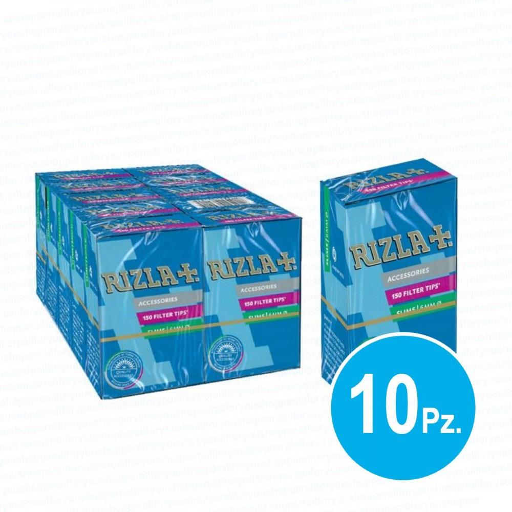 33d55b0df361 1500 filtri rizla 8 mm slim in scatolo 1 box 10 scatole filtri per sigarette