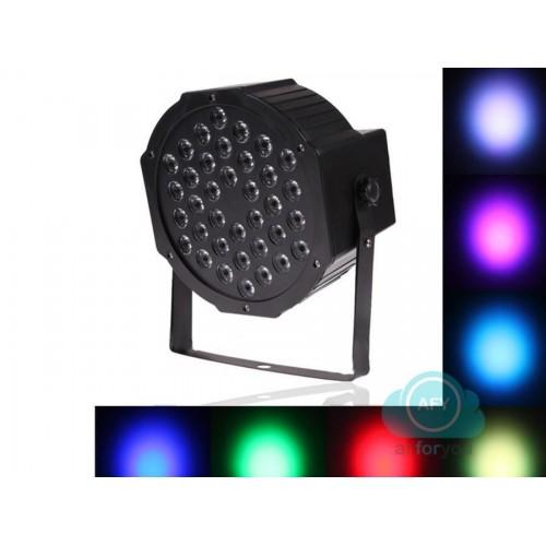 Proiettore luci led faro 36 led rgb mixaggio morbido dmx feste eventi disco off
