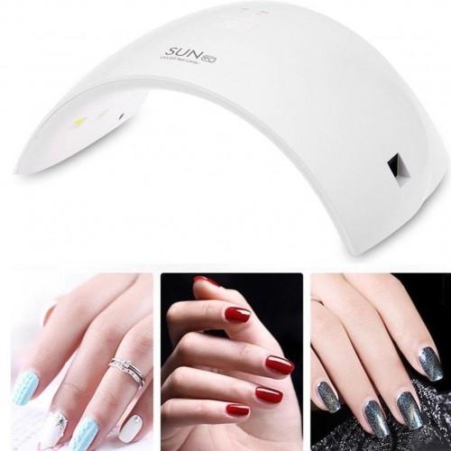Fornetto led uv 24w per ricostruzione colata gel unghie unghia nail art lampada