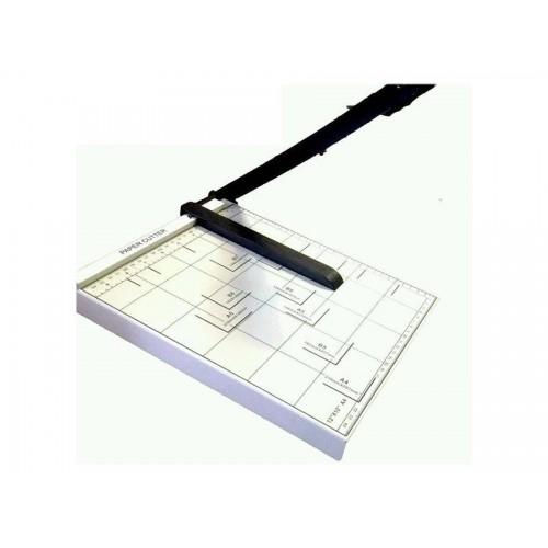 Taglia carta cutter professionale fogli a4 a5 ghiottina metallo taglierina