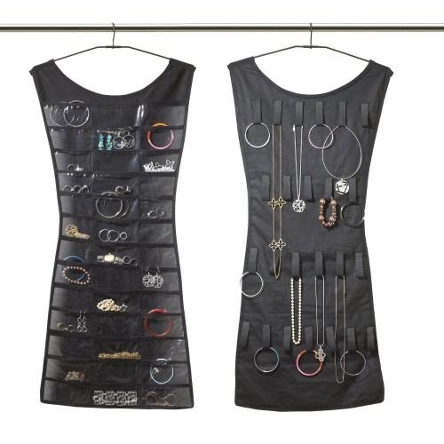 Vestito abito porta gioie espositore orecchini bracciali anelli bigiotteria -
