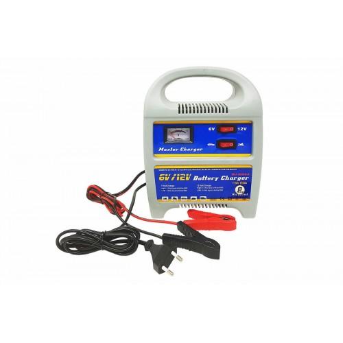 Caricabatterie portatile jump starter 6-12v 8a ampere auto e moto camper barca