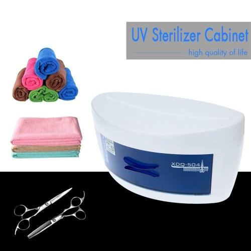 Xdq-504 sterilizzatore uv per forbici asciugamani astuccio strumenti